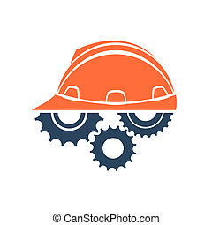 Construction conceptual logo. Perfect for your presentation,...