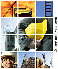 construction - conceptual set made from my photos, great mor...