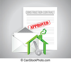 construction contract approved