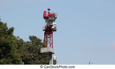 Construction crane - Shot of Construction crane