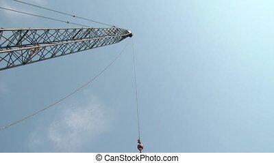 Construction Crane Time-lapse