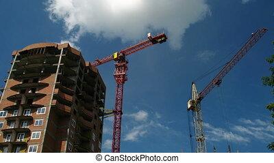 Construction crane working 5