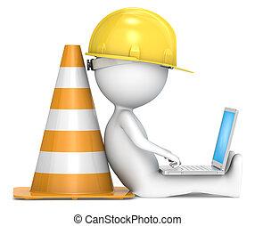 construction., debajo