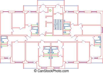 Couleur crayons dessin maison crayons color couleur for Dessins de construction de maison