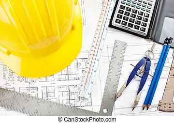 construction, dessin