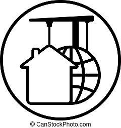 construction development icon