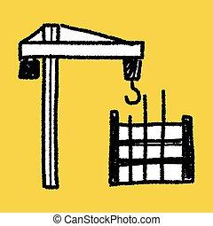 construction doodle