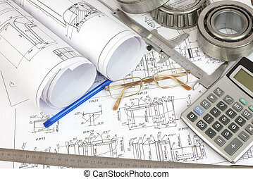 Construction drawings. Desk Engineer