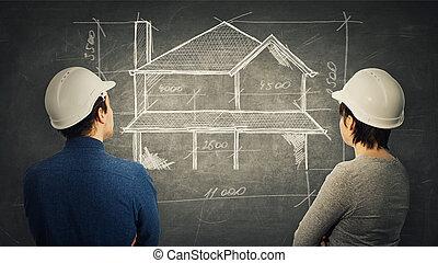 construction engineering teamwork