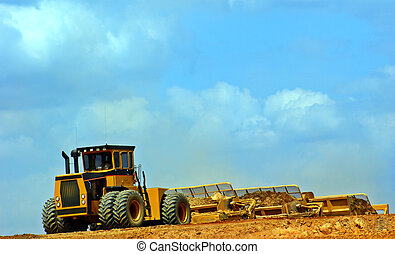 Construction Equipment - Heavy construction equipment.