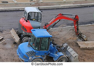 construction, equipments