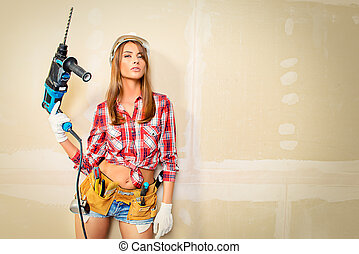 construction female worker