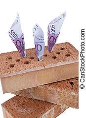 Construction, financing, building society