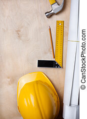 construction, fond