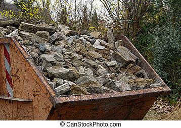 construction, gaspillage, 01