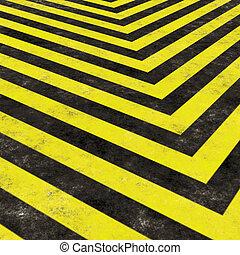 Construction Hazard Stripes - Hazard stripes texture that ...