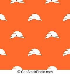 Construction helmet pattern seamless