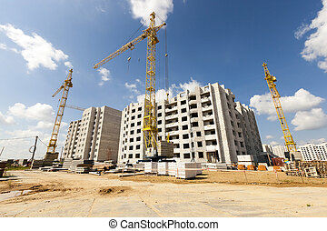 construction high-rise buildings