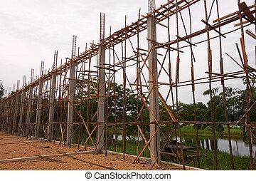 construction house.