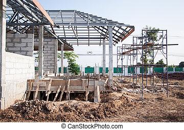 construction house