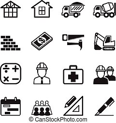Construction icon Set 3