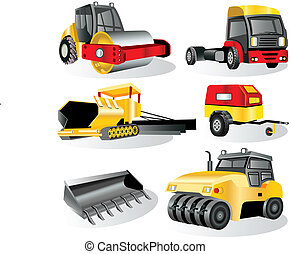 Construction Icons 7 - A collection of construction icons -...