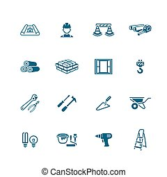 Construction icons | MICRO series