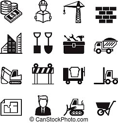 Construction icons Set 1