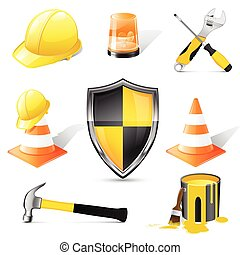 Construction icons