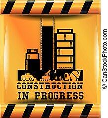 Construction in progress design