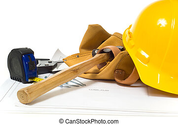 Construction Industry - Items used by a construction worker ...