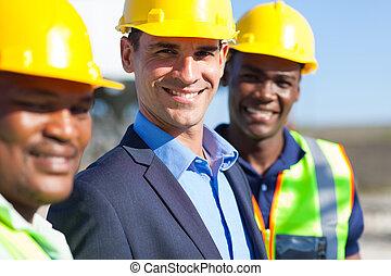 construction, ingénieurs
