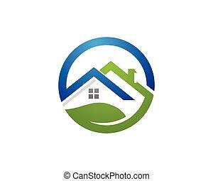construction, logo, propriété