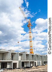 Construction machinery and high-rise building