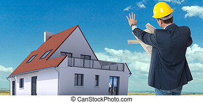 construction maison, architecte