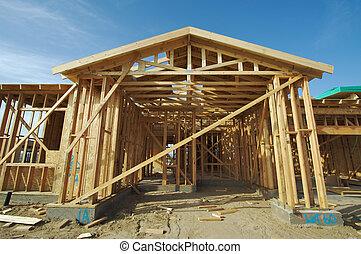 construction maison, encadrement