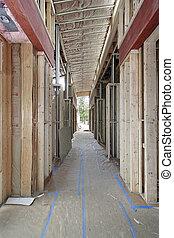 construction maison, luxe, sous