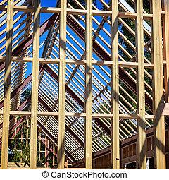 construction maison, résidentiel, nouveau