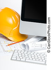Construction manager office