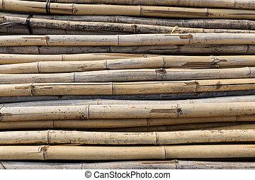 Construction material bamboo