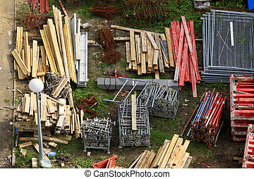 Construction Material - Various materials for the ...