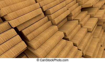 construction materials wood