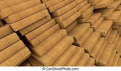 construction materials wood