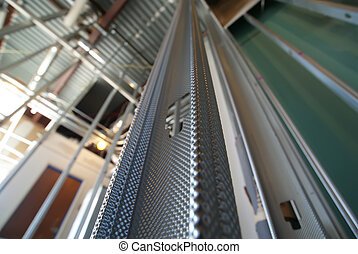 construction metal stud wall