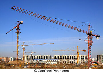 construction of a multi-storey building