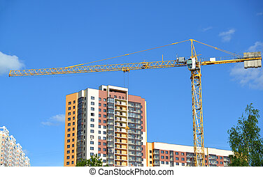 construction of a multi-storey residential house