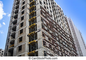 Construction of a multi-story building