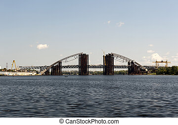 Construction of a new bridge