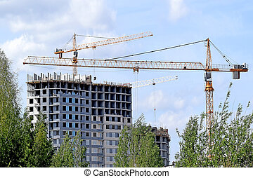 construction of a new hous