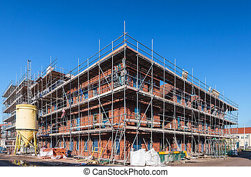 Construction of a new office building